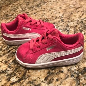 Puma girls toddler shoe sneaker pink 4